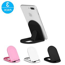 Cell Phone Stand 3Pack, Ama Forest Portable Foldable Desktop