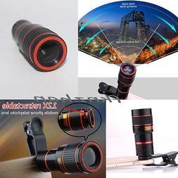 FidgetFidget Clip-on 8X 12x Optical Zoom HD Telescope Camera