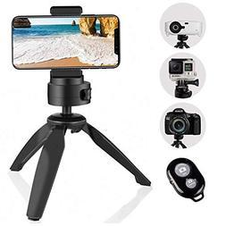 Heavy Duty Tripod, UBeesize Phone Camera Tabletop Mini Tripo