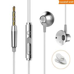 In Ear Earbuds Earphones with Microphone and Volume Control
