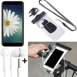 K-S-Trade for Doogee X53 Bicycle Bracket Mobile Phone Holder
