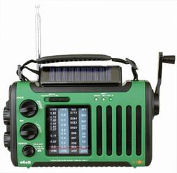 Kaito Voyager Solo KA450 Solar/Dynamo AM/FM//SW & NOAA Weath