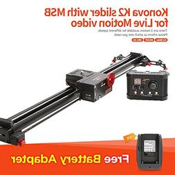 Konova K2 80cm  Slider with MSB for Live Motion Video