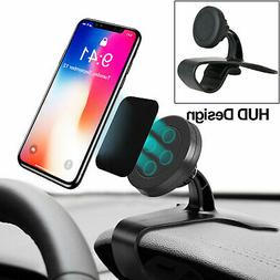Magnetic Car Dashboard Mount Holder Stand HUD Design Cradle