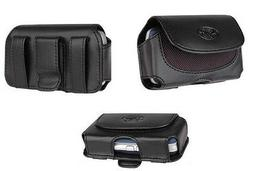 NEW - Leather Carrying Case Pouch Holster Clip with Belt Loo