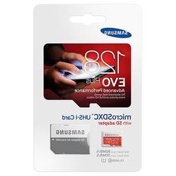 Samsung Evo Plus mc128d 128gb Uhs-i Class 10 Micro SD Card w