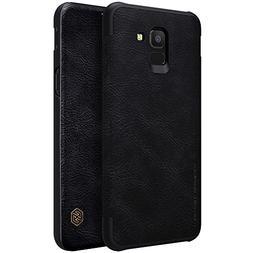 Samsung Galaxy J6 Case,Mangix Flip PU Leather Wallet Smart S