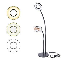Selfie Ring Light with Cell Phone Holder Ring Light for Live