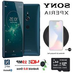 "Sony  Xperia XZ2 64GB, 5.7"" Screen, Unlocked Phone with Sony"