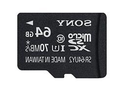 Sony 64GB Micro SDXC Class 10 UHS-1 Memory Card