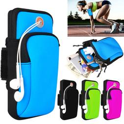 Sports Armband Running Jogging Gym Arm Band Pouch Holder Bag