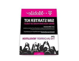 T-mobile - Complete Sim Starter Kit - White