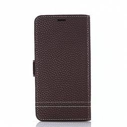 TOTOOSE Meizu M6 Leather Wallet Case with Bumper Meizu M6 Fl