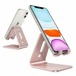 OMOTON Desktop Cell Phone Stand Tablet Stand, Advanced 4mm
