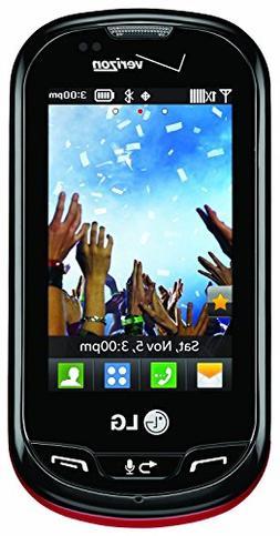 Verizon LG Extravert No Contract QWERTY 2MP Camera Touchscre