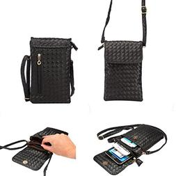 WaitingU Universal Crossbody Cell Phone Bag Multipurpose Sof