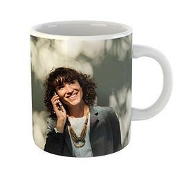 Westlake Art - Mobile Woman - 11oz Coffee Cup Mug - Modern P