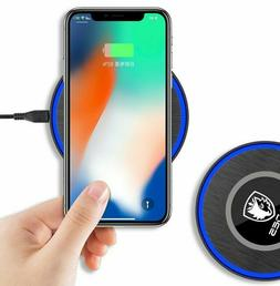 Wireless QI Cellphone Charger Cordless Charging Pad Phone Un