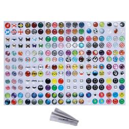 Wisdompro Home Button Sticker for Apple iPhone, iPod, iPad,