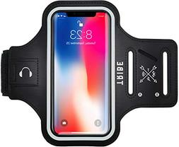 TRIBE Water Resistant Cell Phone Armband Case for iPhone Xs