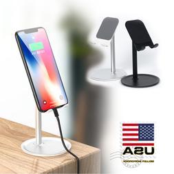 Adjustable Holder Mount Universal Tablet Phone Stand Desktop