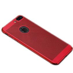 Apple X/8/7plus red heat mobile phone case iPhone 6s net she