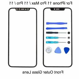 For Apple iPhone 11 Pro Max Front Replacement Screen Glass L