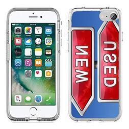 MSD Apple iPhone 7/iPhone 8 Clear case Soft TPU Rubber Silic