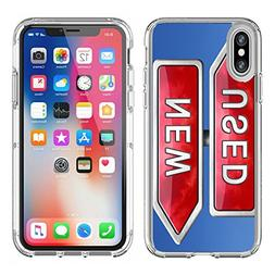 MSD Apple iPhone X Clear case Soft TPU Rubber Silicone Bumpe
