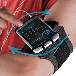 Sports Armband: Cell Phone Holder Case Arm Band Strap Pouch