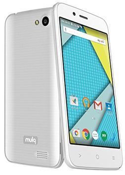 "Plum Axe 4G Factory Unlocked Phone - 4"" Screen - 8GB - White"