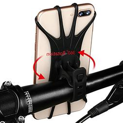 Aonkey Universal Bike Phone Mount, Bicycle Handlebar Cell Ph