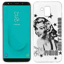 1 piece BINYEAE Marilyn Monroe Silicone TPU Case Cover for S