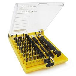 ZRAMO Black 45 in 1 Portable Small Torx Screwdriver Set Mobi