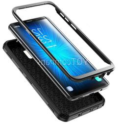 BLACK HEAVY DUTY TOUGH SHOCKPROOF HARD CASE COVER FOR MOBILE