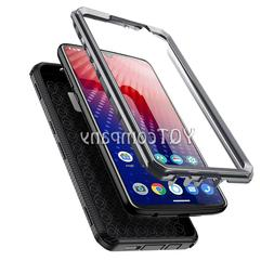 Tempered Glass Phone Case For LG Samsung iPhone Moto Cover L