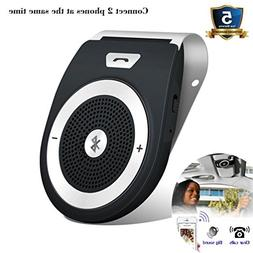 Bluetooth Car Speakerphone, Bluetooth 4.1 Wireless Audio Mus