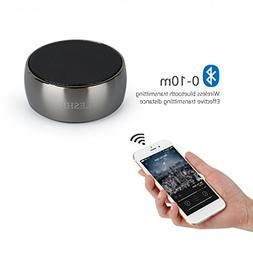 Bluetooth Speaker ,LESHP Metal Bluetooth Wireless Speaker wi