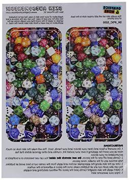 Graphics and More Board Game Gaming Dice Protective Skin Sti