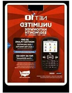 Brand New Net 10 Unlimited R355C Samsung Cell Phone Radio Sh