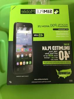 BRAND NEW ALCATEL onetouch PIXI AVION LTE  Smartphone