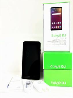 "BRAND NEW LG STYLO 5 - 32GB, Grey 6.2"" Full HD+ Display Andr"