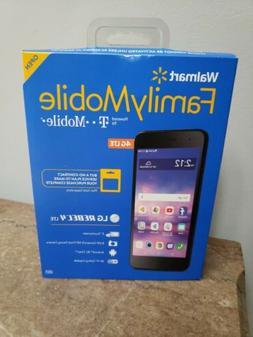 Brand new LG Walmart Family Mobile Rebel 4 LTE Android Prepa