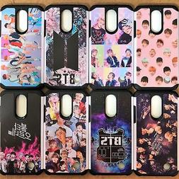 BTS Bangtan Boys KPOP Case Dual Layer Hybrid Phone Cover For