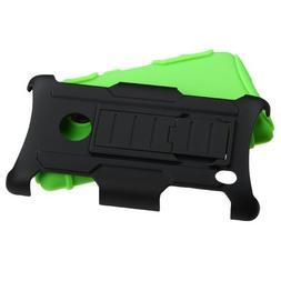 MYBAT Car Armor Kickstand Protector Cover Rubberized for Nok