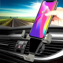 car automatic phone mount clip cellphone holder