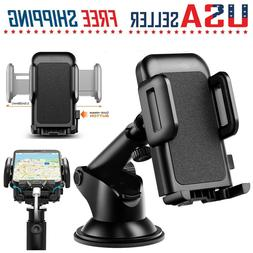Cell Phone Car Windshield Dashboard Mount Holder Stand 360 R