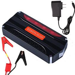 Pevor 9000mAh Car Emergency Jump Starter 7 Sets Pack Booster
