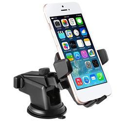 Car Mount Holder, LESHP Windshield Dashboard Smartphone Exte