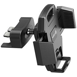 Car Phone Holder, F-color Quick Release CD Slot Car Mount Ph